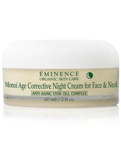 Eminence Organics Monoi Age Corrective Night Cream for Face and Neck